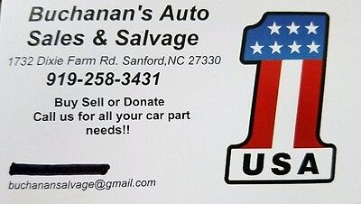BUCHANAN'S AUTO SALVAGE