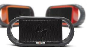 Ecoxgear EcoXBT Waterproof Bluetooth Speaker (Orange, Grey) NEW!