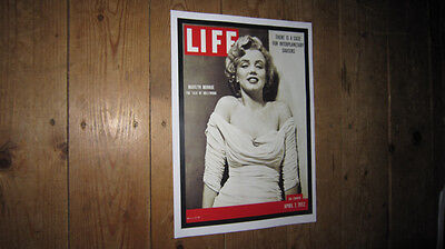 Marilyn Monroe Life Magazine Advertising POSTER