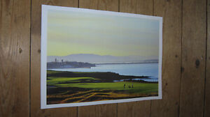 St Andrews Golf Venue Great New POSTER