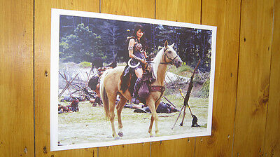 Xena Warrior Princess Lucy Lawless Horse POSTER