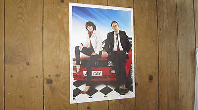 Ashes to Ashes DCI Gene Hunt TV Show POSTER