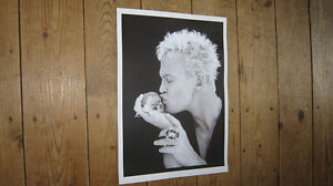 Billy-Idol-Great-New-BW-Skull-POSTER
