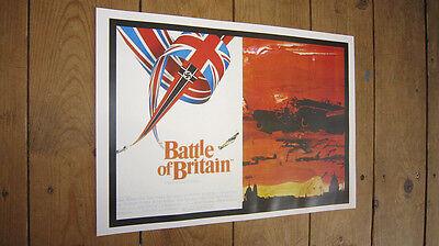 Battle of Britain Michael Caine Repro Film POSTER
