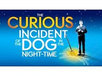 2x premium tickets CURIOUS INCIDENT OF THE DOG (London) Mon 12th eve