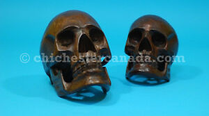 COOL Wooden skulls for sale