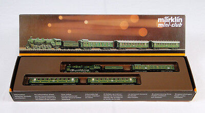 Z Marklin 8102 Bavarian Steam Passenger Set