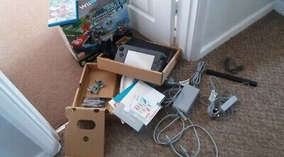 Nintendo Wii U Mario Kart console bundle 32gb. Taken out of box but never used.