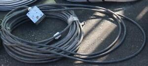 30 Ft Cable W/ Socket 3 Conductor 12 Gauge