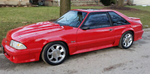 For sale: 1991 Ford Mustang Gt.