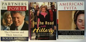 Hillary & Bill Clinton Books (x3)