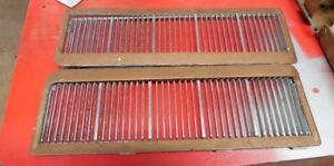 1969 olds 442 hood louvres