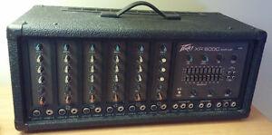 Amplificateur Peavey XR-600C, 2 speakers Peavey PR12, 2 supports Québec City Québec image 6