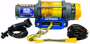 Brand New Superwinch Terra 45SR 4500lb winch & synthetic line