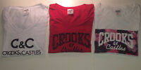 CROOKS AND CASTLES Women T's