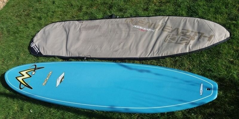 Surfboard Mctavish Tuflite Eight Foot With Bag Fins And Leash Very Good Se Cornwall