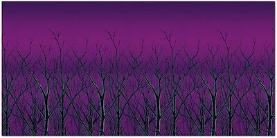 Halloween FOREST TREETOP BACKDROP Party Decoration PHOTO BOOTH 48