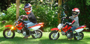 Honda 50 CRF50F7 - Two Motorcycles