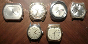 Vintage men's good working watches