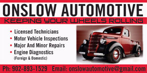 Onslow Automotive, Tires, Undercoating and More!