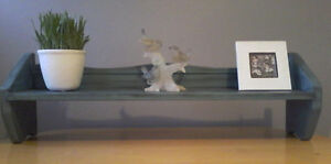 TWO SOLID WOOD SHELVES FOR SALE