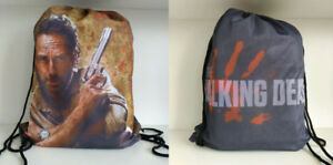 Walking Dead Double Sided Pull String Backpack Bags