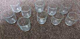 Glasses x 10