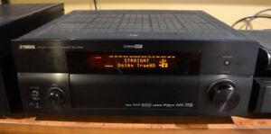 Yamaha RX-V1800 7.1 A/V Receiver w POWER 2remotes quality