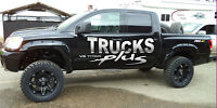 """6"""" Lift pkgs w/ 20"""" RIMS MT tires & flares from $5500 INSTALLED!"""