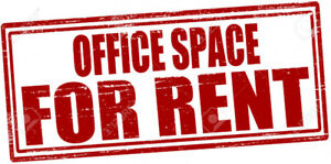Partially-furnished office space for rent