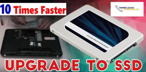Limited time Promotion - Make your Laptop Faster with SSD Drive