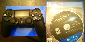 PS4 MGS-5 & PS4 Controller combo