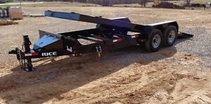 TILT EQUIPMENT TRAILERS