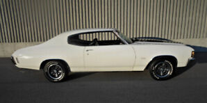 CHEVELLE SS396 NUMBERS MATCHING 50K ORIGINAL MILES NOT RESTORED