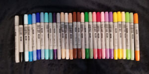 Copic Ciao markers* lot of 30* no duplicates* new*