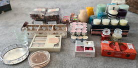 Candles job lots include Yankee candle/Hotel collection/IKEA & Accesso