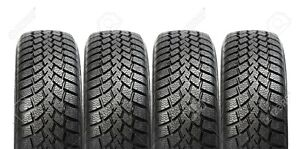 Set of Winter Tires 245/70R17 or 265/70R17