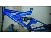 Downhill frame and parts for sale