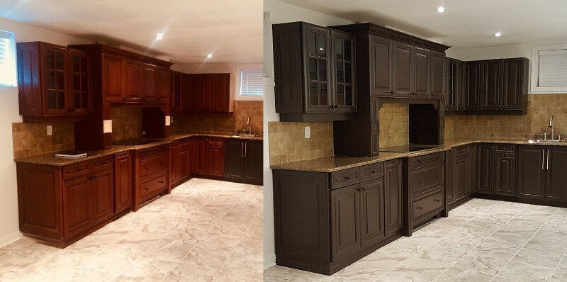 Cabinet Painter Kitchen Spray Painting Refinishing Painters Mississauga L Region Kijiji