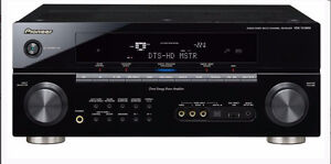 7.1 CHANNEL A/V RECEIVER FEATURING HD-AUDIO DEC/ 1080P UP scale