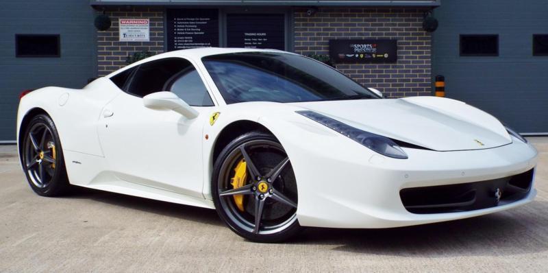 2012 Ferrari 458 4.5 V8 Italia Big Spec Great Example!