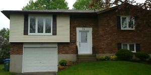 Detached 4 Bedroom House With 1 Car Garage For Rent