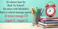 Massage appointment Promo! Massages available same day!!