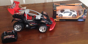 3-Remote Control Cars, 1-is Brand New