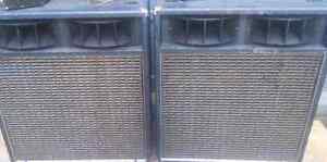 Large Yamaha powered speakers