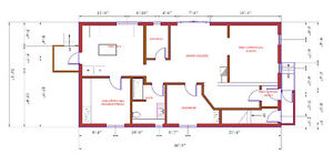 Architectural drawings and estimates