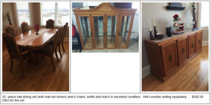Furniture - Prices Reduced