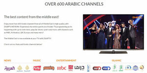 ZAAPTV HD609N™ OVER 1300 ARABIC&GLOBAL CHANNELS-NO MONTHLY FEES London Ontario image 9