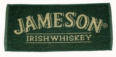 Jameson Irish Whiskey Cotton Bar Towel 500mm x 250mm (pp)