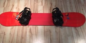 Mint condition men's Salomon snowboard & K2 bindings for sale!!!